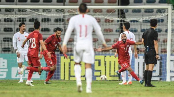 Síria é uma das três seleções da Ásia que seguem com 100% de aproveitamento nas Eliminatórias da Ásia para a Copa 2022
