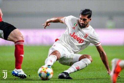 Emre Can insatisfeito Juventus situação