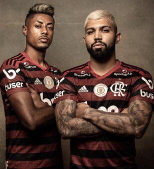 Jogadores do Flamengo se destacaram em votações do Brasileirão 2019