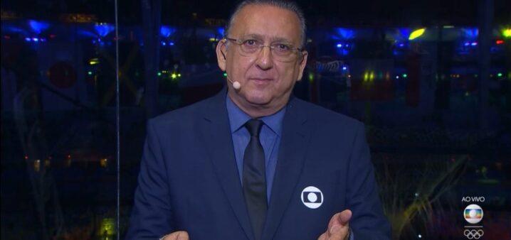 Galvão Bueno torce para o Flamengo.