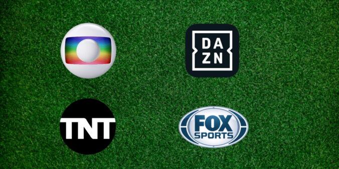 Globo, DAZN, TNT, Fox