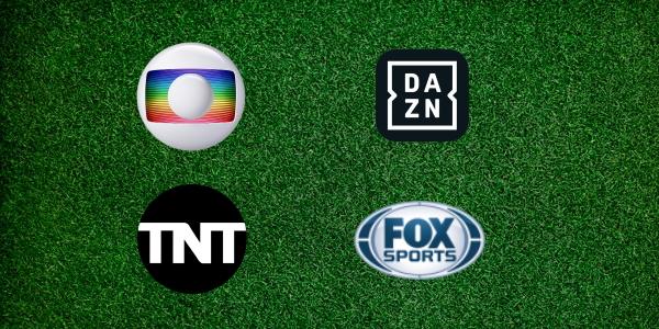 Globo, DAZN, TNT, Fox - futebol