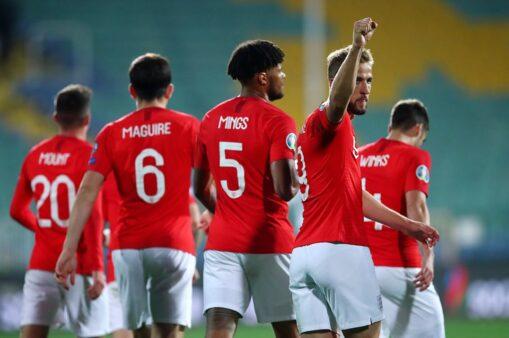 Inglaterra x Montenegro provável escalação ingleses Eliminatórias da Euro