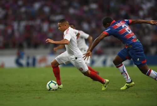 Internacional e Fortaleza jogam neste domingo (24), pelo Brasileirão,