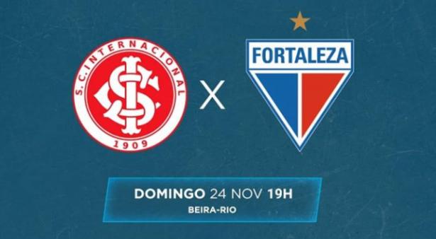 Internacional x Fortaleza, Brasileirão Série A 2019 (Reprodução/ Facebook oficial Campeonato Brasileiro)