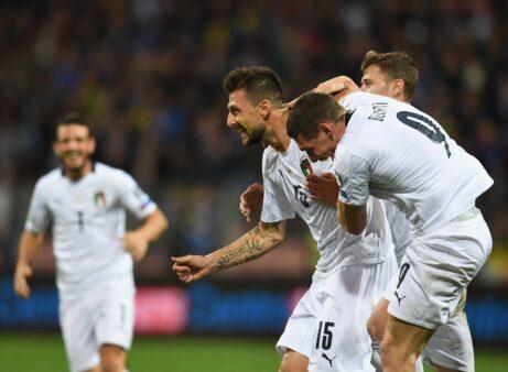 Itália tem a melhor campanha até aqui das Eliminatórias para a Euro 2020