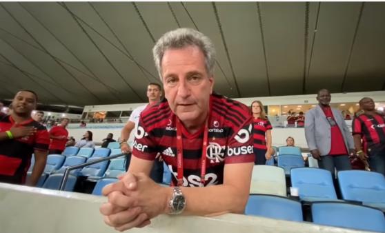 Landim é presidente do Flamengo e contratou Torrent.