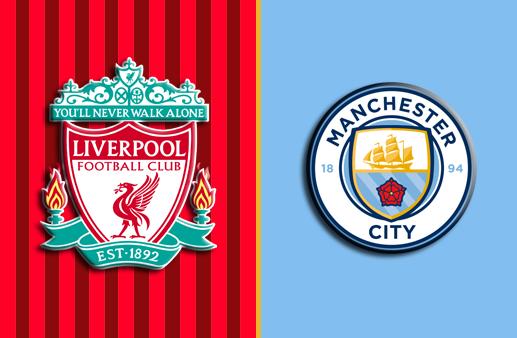 Liverpool x Manchester City Premier League
