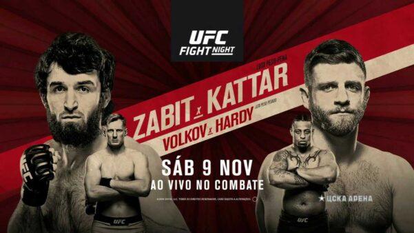 UFC Moscou Zabit Magomedsharipov x Calvin Kattar AO VIVO