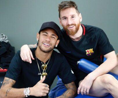 Neymar tentou voltar ao Barcelona.