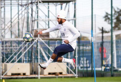 Recuperação de Neymar segue evoluindo.