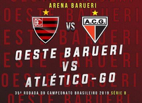 Oeste x Atlético-GO Placar AO VIVO