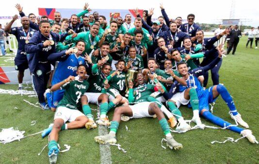 Palmeiras sagrou-se campeão paulista recentemente e é um dos favoritos ao título da Copinha 2020