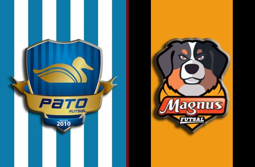 Pato x Magnus Final da Liga Nacional de Futsal