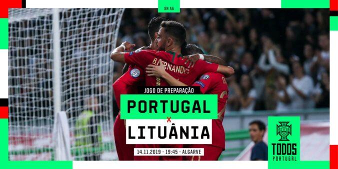 Placar AO VIVO Portugal x Lituânia