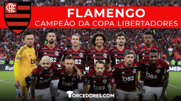 Flamengo é Campeão Da Libertadores Baixe Pôster Exclusivo