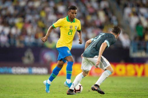 Rodrygo Brasil x Argentina