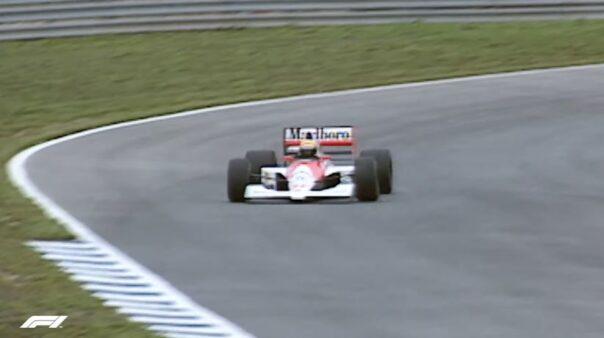Senna Fórmula 1 McLaren