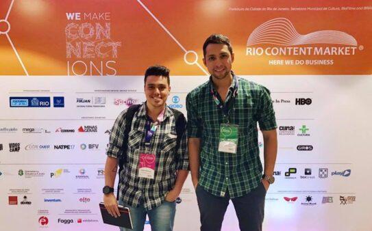 Os sócios Tiago Fernandes e André Ignacio / Reprodução / Facebook Oficial Skidun