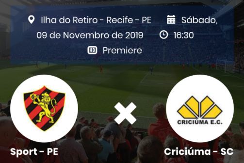 Sport x Criciúma, Série B