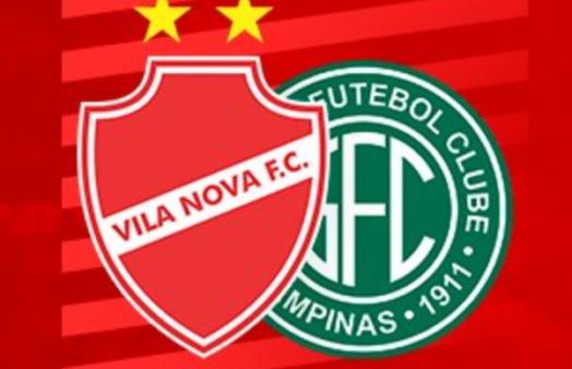 Vila Nova x Guarani ao vivo