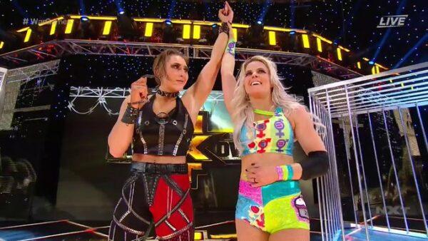 NXT Takeover War Games Resultados