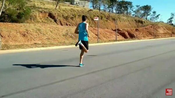 corrida de rua alimentação