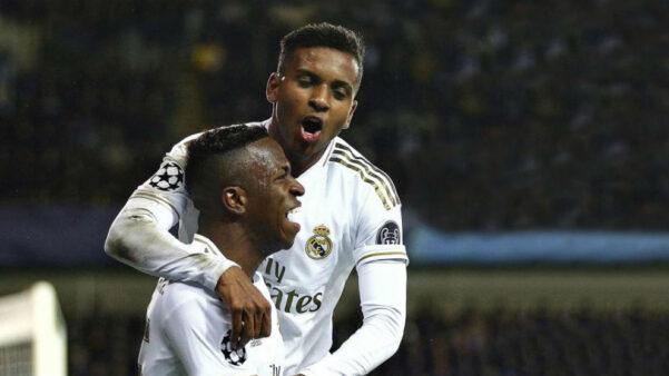 Rodrygo e Vinicius Junior