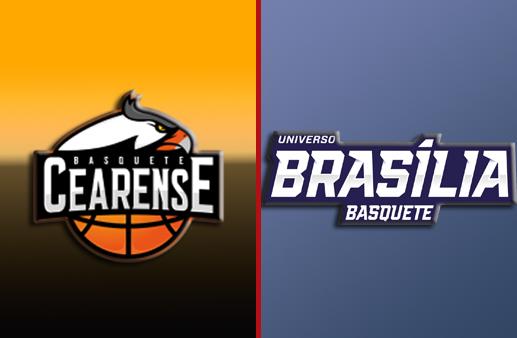 Basquete Cearense x Brasília Basquete NBB
