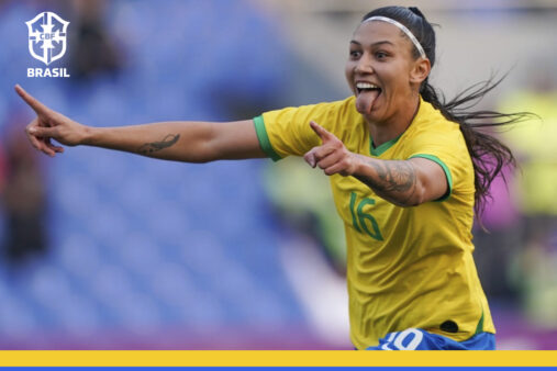Brasil x México amistoso seleção brasileira feminina