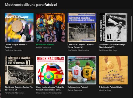 Futebol Spotify