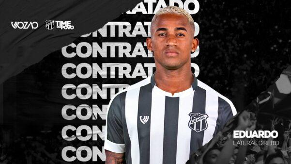 Ceará confirmou Eduardo como primeiro reforço para 2020