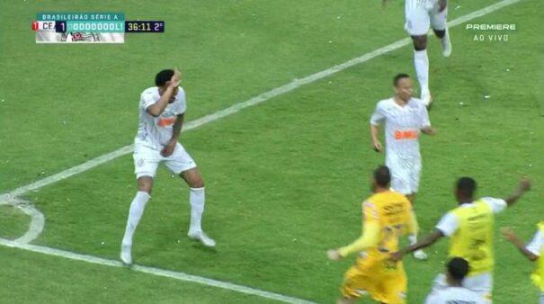Ceara X Corinthians Assista Ao Gol Do Jogo Do Brasileirao