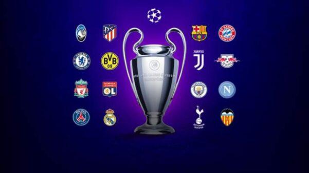 Jogos da champions league 2020