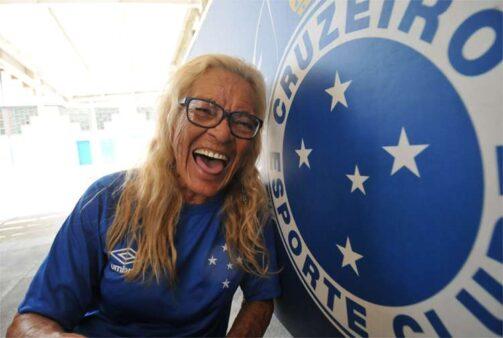 Dona Salomé, torcedora do Cruzeiro