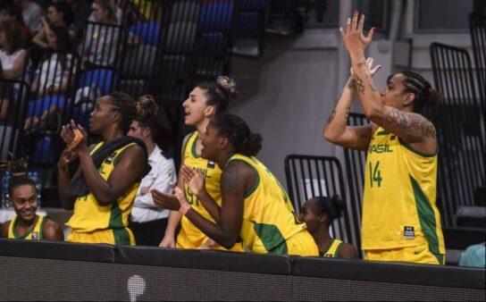 Amistoso Basquete Brasil