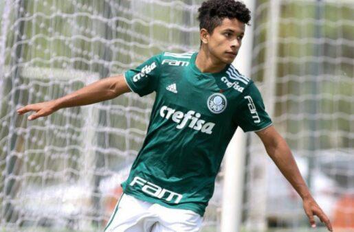 Gabriel Silva é uma das joias do Sub-20 do Palmeiras