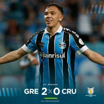 Gols Grêmio x Cruzeiro