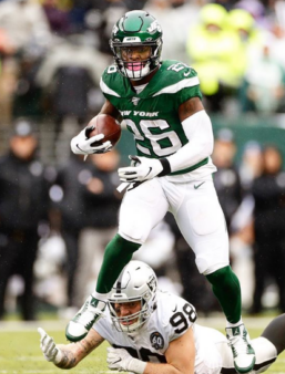 Le'Veon Bell, RB dos Jets