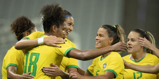 seleção brasileira feminina (Foto: Lucas Figueiredo/ Site oficial CBF)