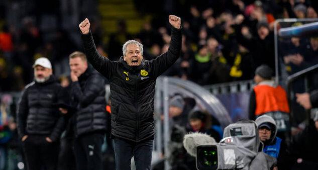 Lucien Favre classificação Borussia Dortmund Champions League
