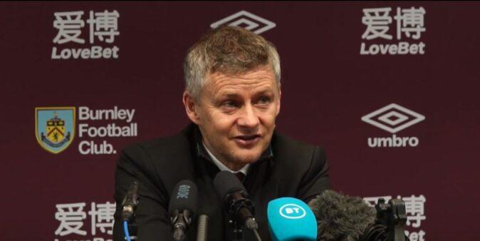 """Solskjaer elogia Fred após partida contra o Burnley: """"Excelente"""""""