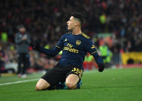 Gabriel Martinelli vem se destacando no Arsenal.