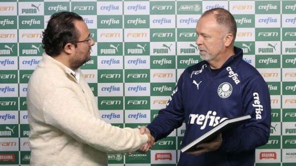 Após demissões, Palmeiras terá que pagar multas à Mano Menezes e Mattos; veja o valor