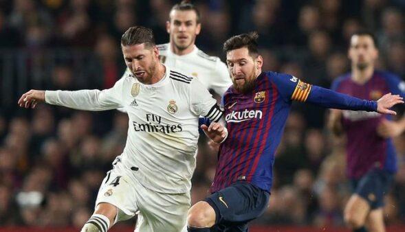 Sérgio Ramos e Messi