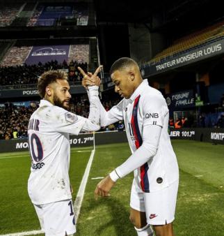 Neymar e Mbappé se destacaram na última Ligue 1.