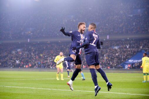 """Neymar tem sido o """"garçom"""" de Mbappé nos últimos jogos"""