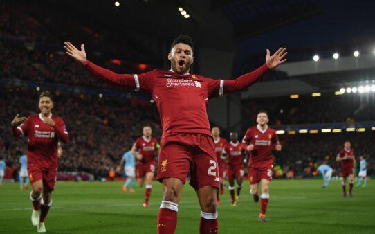 Passagem Arsenal Oxlade-Chamberlain grave lesão melhor futebol Liverpool