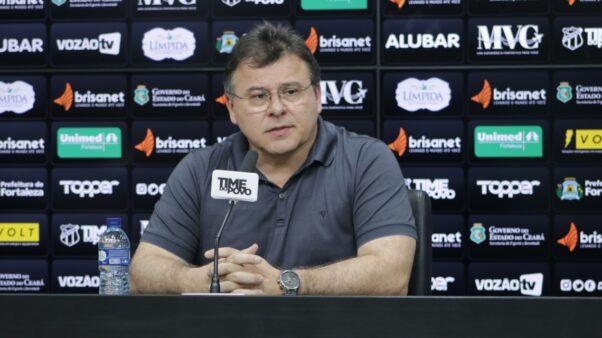 Robinson de Castro confirmou reforços chegando no Ceará, que vai movimentando o mercado da bola