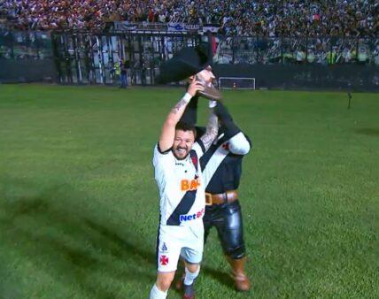 Rossi em Vasco x Cruzeiro